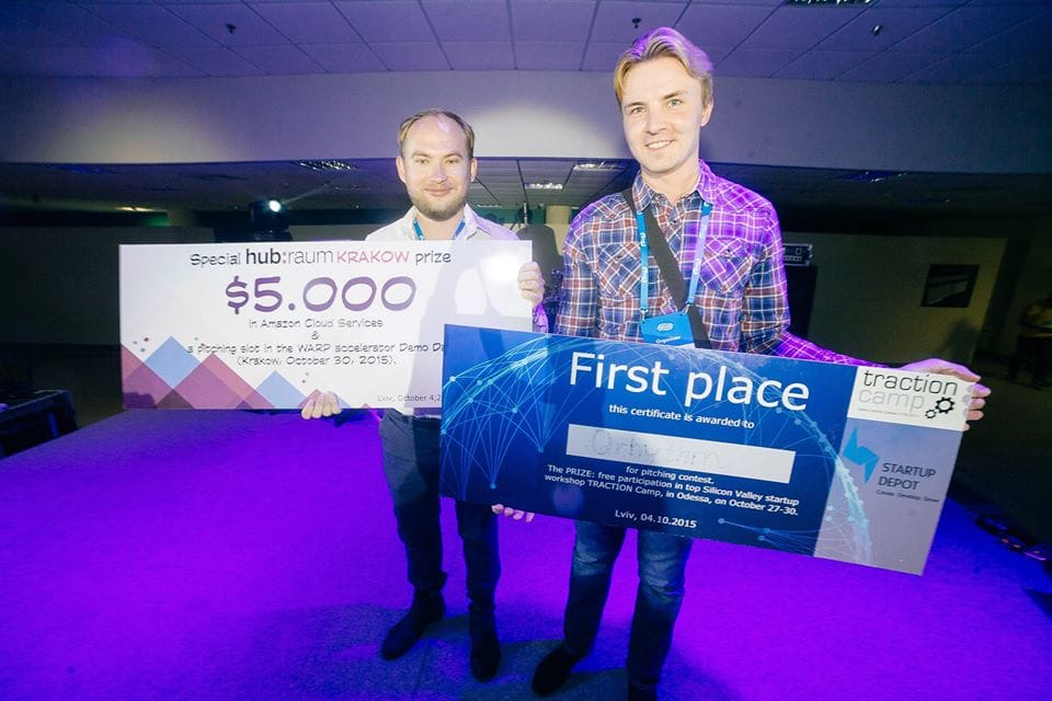 Lviv IT Arena Startup Competition winners