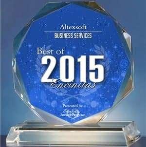 2015 Best of Encinitas Award Winner logo
