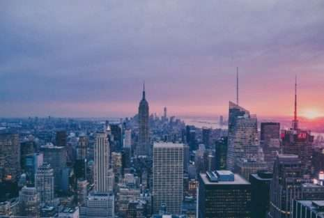 NY city view