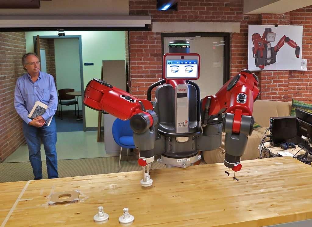 adaptive robot baxter