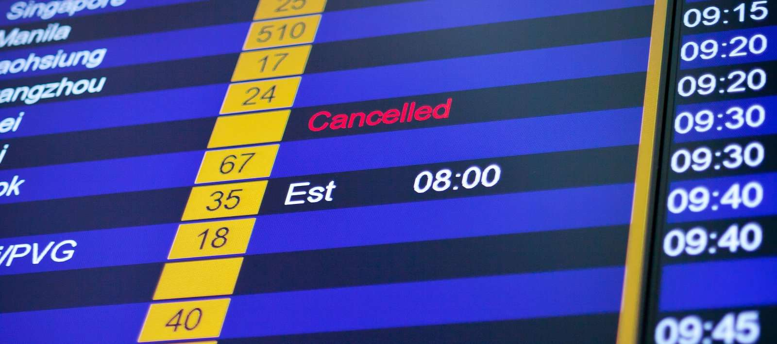 Travel disruption management: tech opportunities in the travel industry