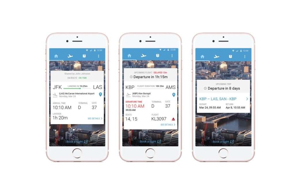 Fareboom Mobile UI