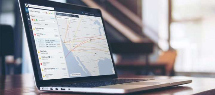 laptop with cornerstone interface