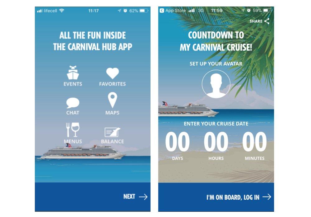 Carnival Hub concept