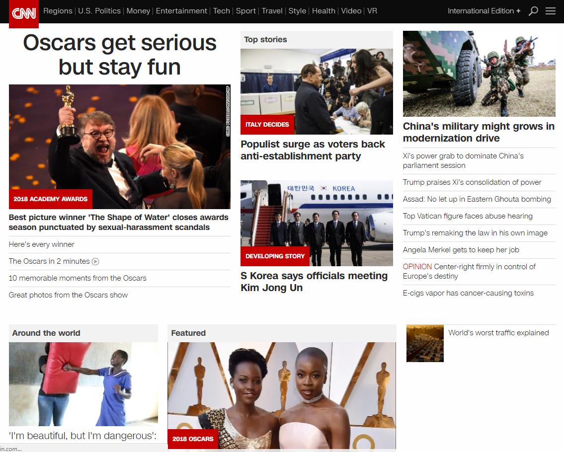 CNN content optimization