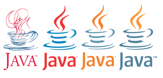 the evolution of java logos