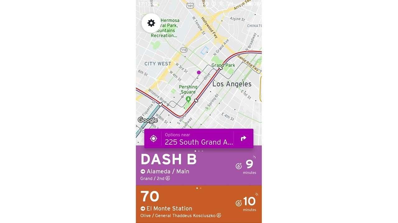 navigation transit app
