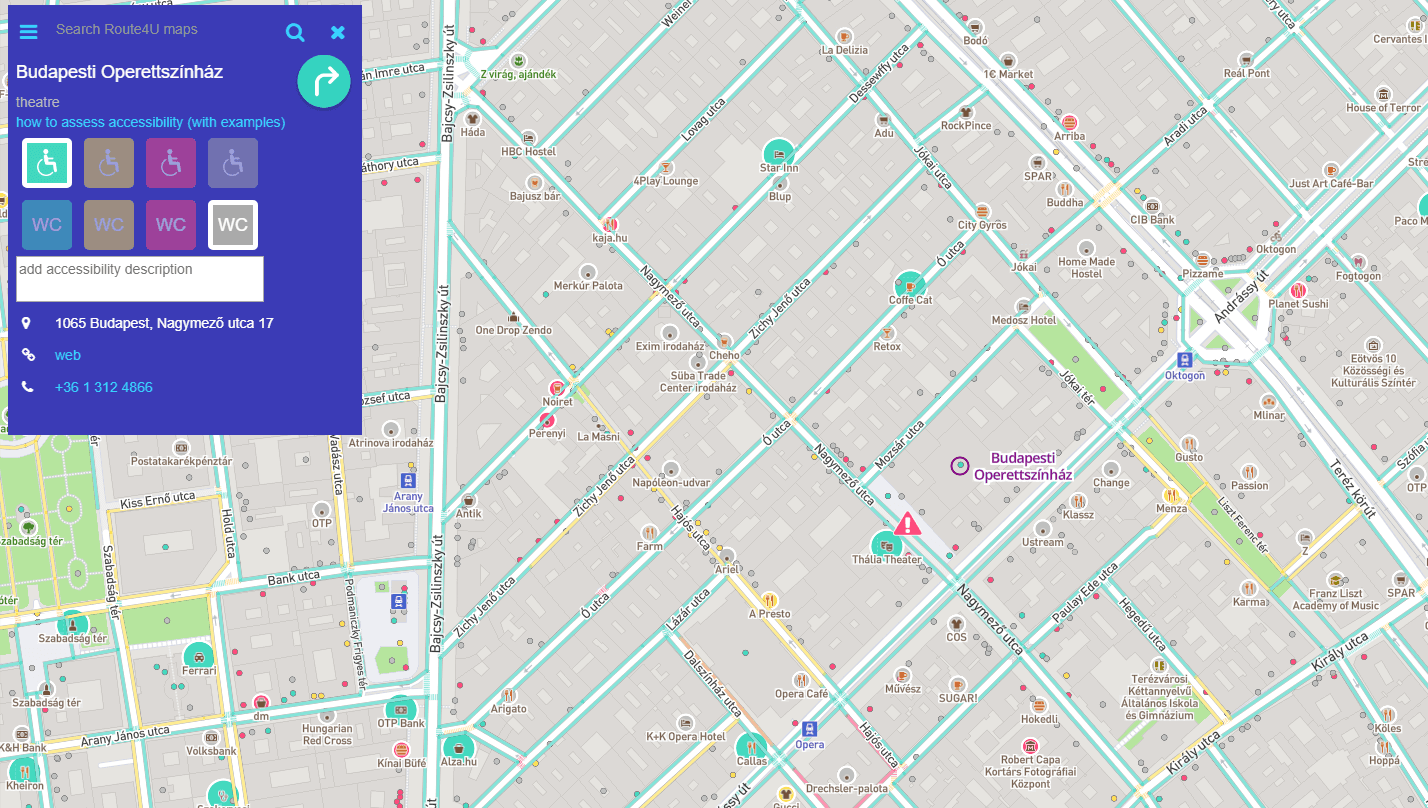route4u interface