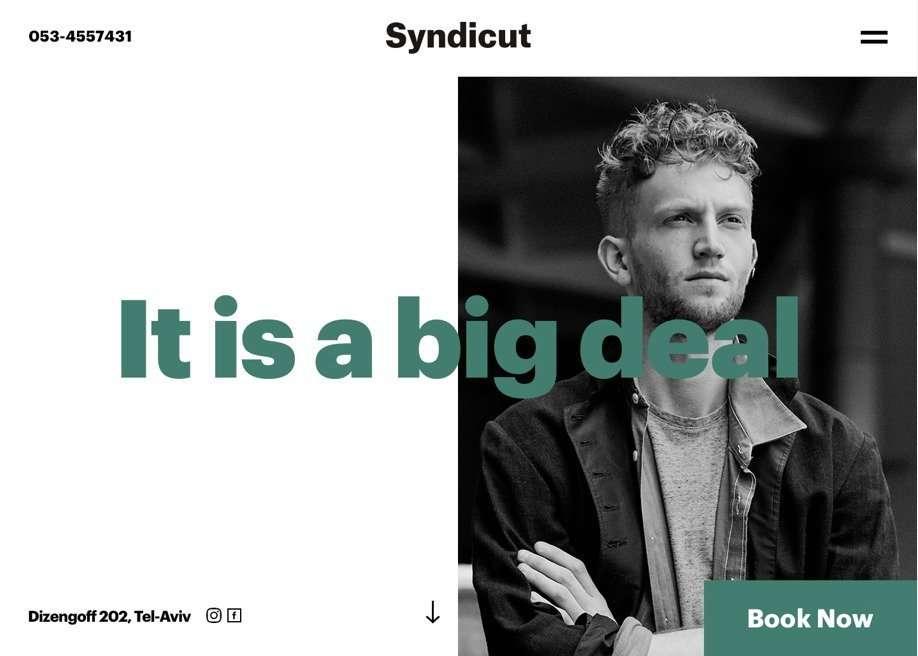 syndicut homepage
