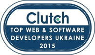 clutch.co Top Ukraine-based Web and Software Developers logo