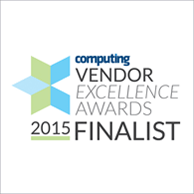 Vendor Excellence Awards 2015 Finalist logo