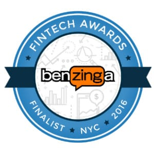 logo Finalist 2016 Benzinga Fintech Awards