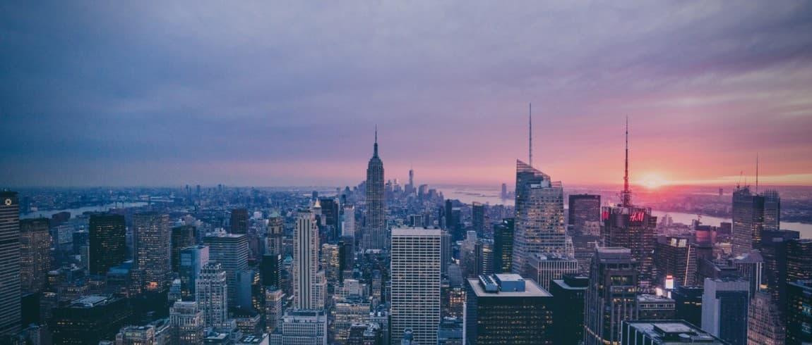 NY city view