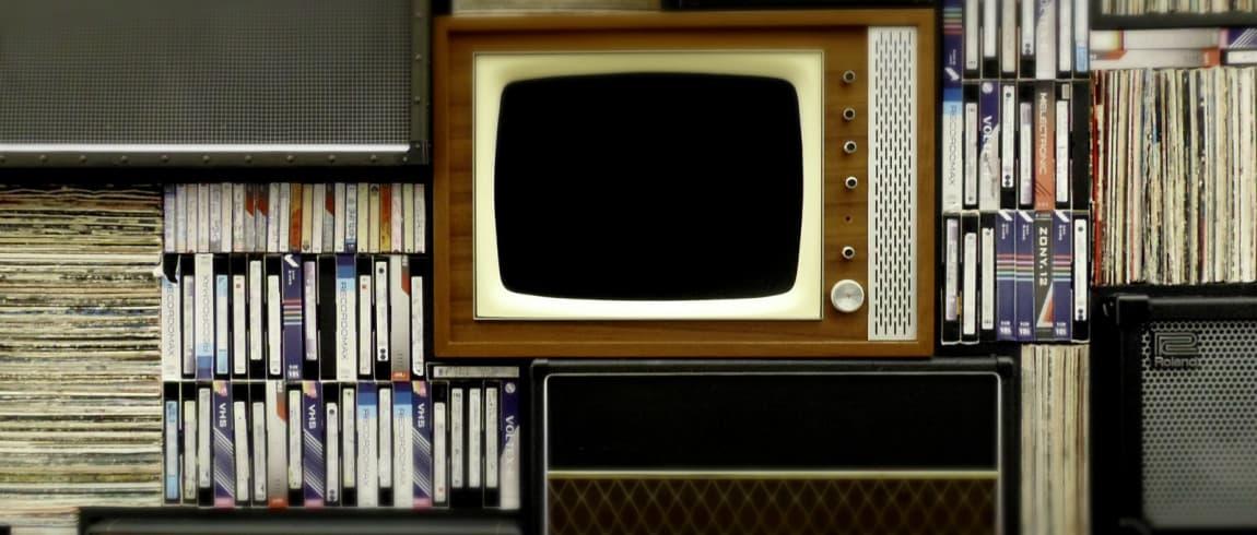 Old TV  responsive web design