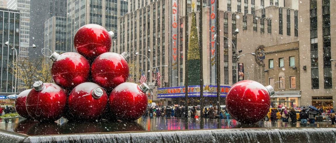 Christmas New York Downtown